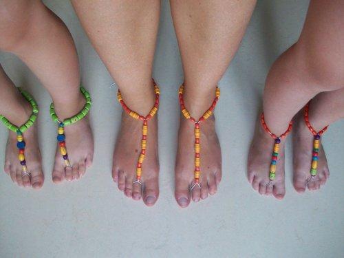 Geliefde Zelf sandalen maken | Green Evelien #ZH84
