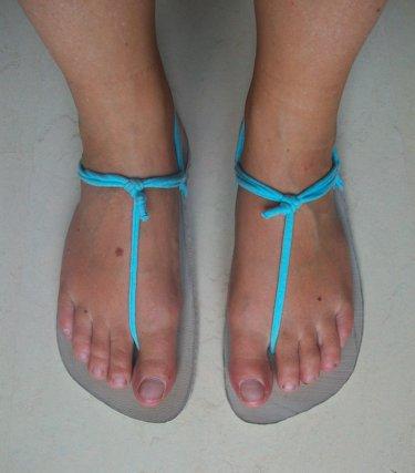 Voorkeur Zelf sandalen maken | Green Evelien #TU28