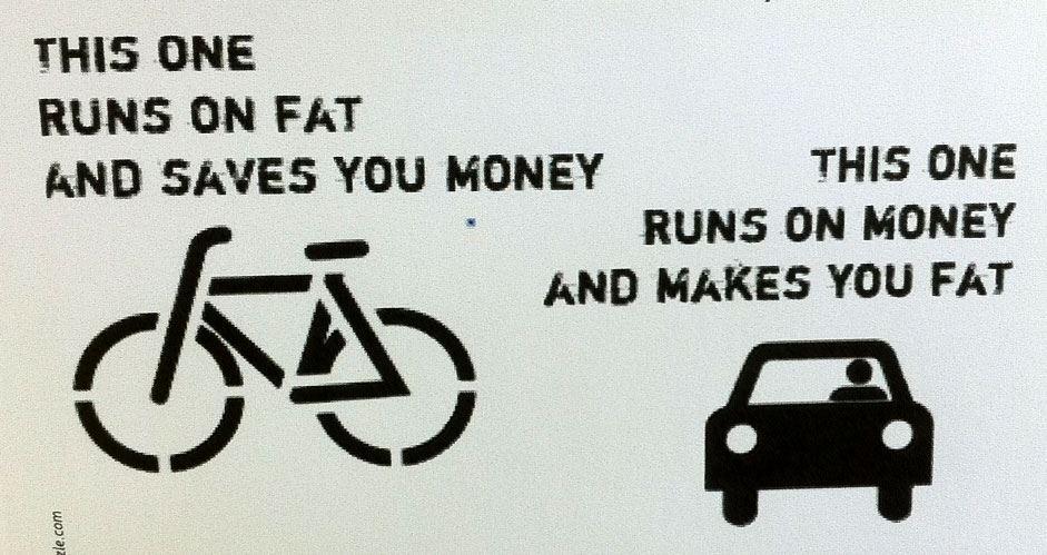 fiets vs auto