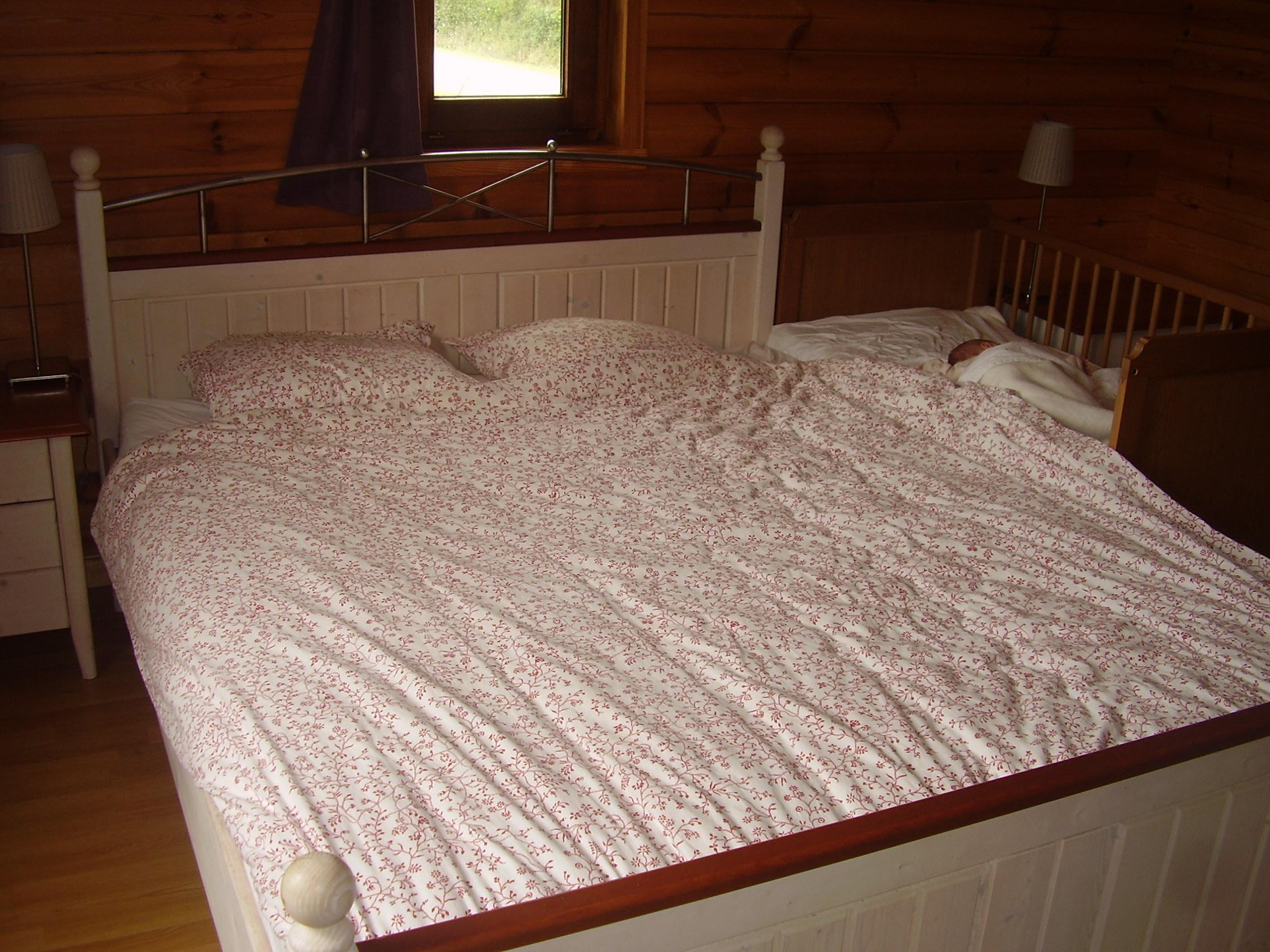 Samen slapen bed