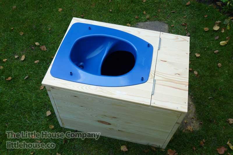Toilet Zonder Afvoer : Composttoilet green evelien