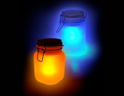 lamp weckpot kleur