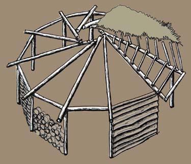 round house frame